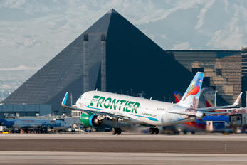 N317FR - Frontier Airlines Airbus A320 NEO