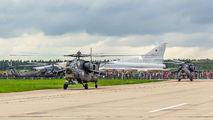 """08 - Russia - Air Force """"Berkuts"""" Mil Mi-28 aircraft"""