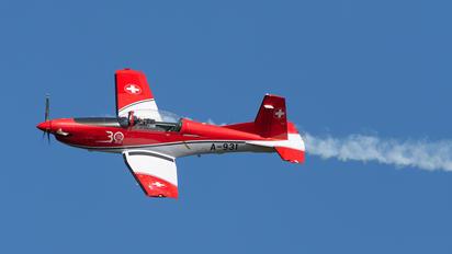 A-931 - Switzerland - Air Force: PC-7 Team Pilatus PC-7 I & II