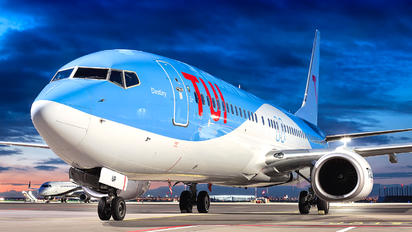 OO-JUP - TUI Airlines Belgium Boeing 737-800