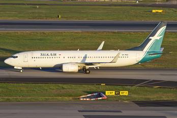 9V-MGG - SilkAir Boeing 737-800