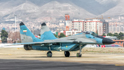 3-6118 - Iran - Islamic Republic Air Force Mikoyan-Gurevich MiG-29A