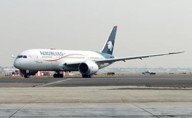 XA-AMX - Aeromexico Boeing 787-8 Dreamliner
