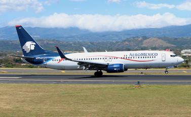 N377AR - Aeromexico Boeing 737-800