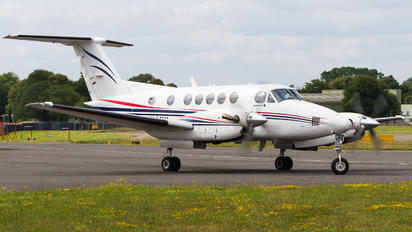 G-FLYW - Fly Wales Beechcraft 200 King Air