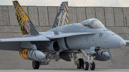 J-5011 - - Airport Overview McDonnell Douglas F/A-18C Hornet