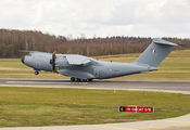 French Air Force Airbus A400 visited Vilnius title=