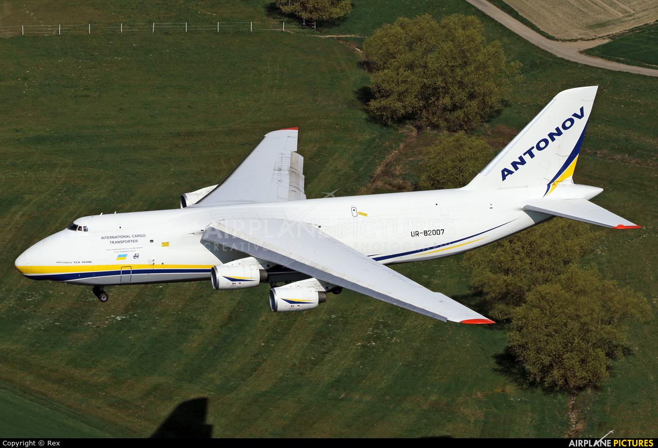 Antonov Airlines /  Design Bureau UR-82007 aircraft at Frankfurt - Hahn