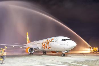 PR-GGW - GOL Transportes Aéreos  Boeing 737-800
