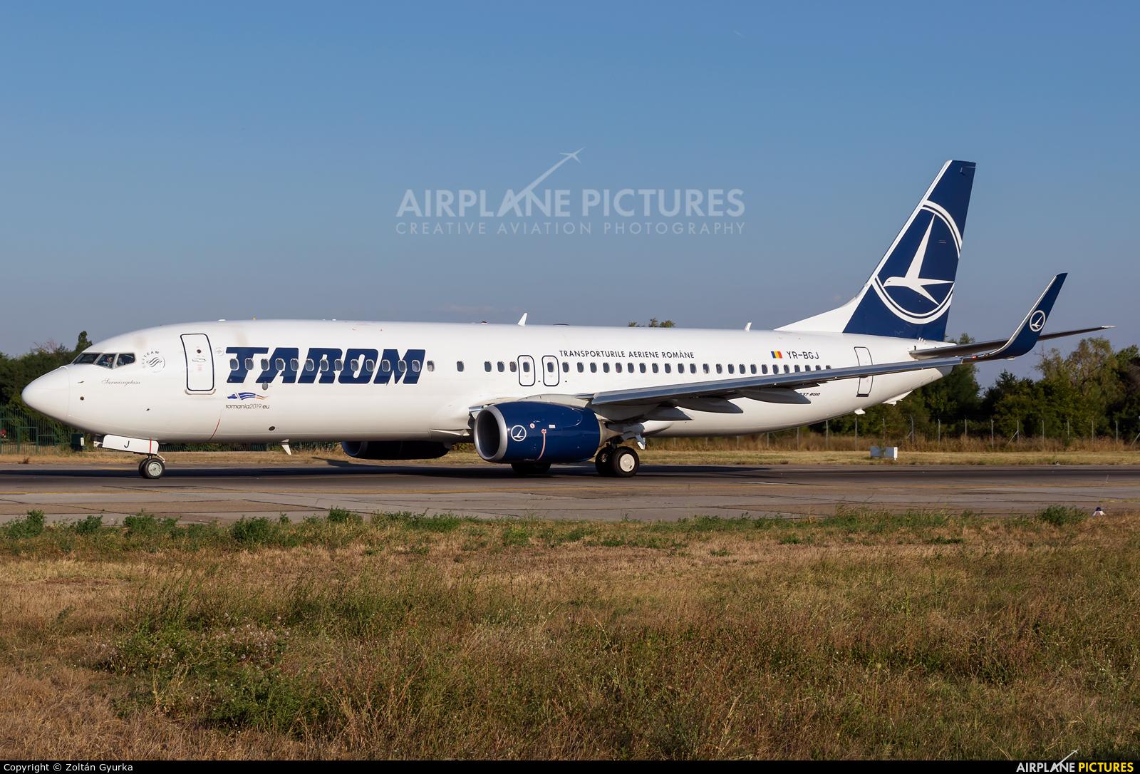 Tarom YR-BGJ aircraft at Bucharest - Henri Coandă