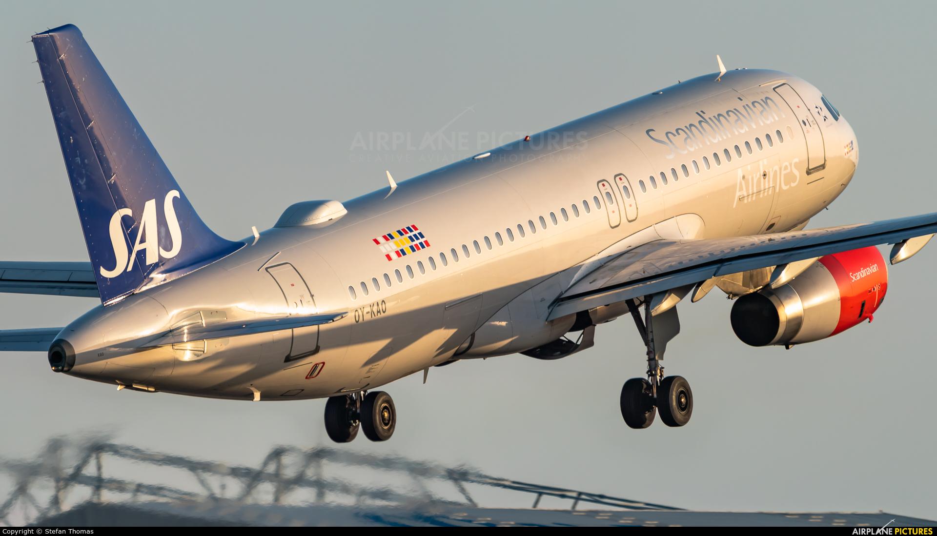 SAS - Scandinavian Airlines OY-KAO aircraft at Palma de Mallorca