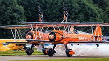 SE-BOG - Breitling Wingwalkers Boeing Stearman, Kaydet (all models) aircraft