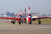 3H2011 - Poland - Air Force: White & Red Iskras PZL TS-11 Iskra aircraft