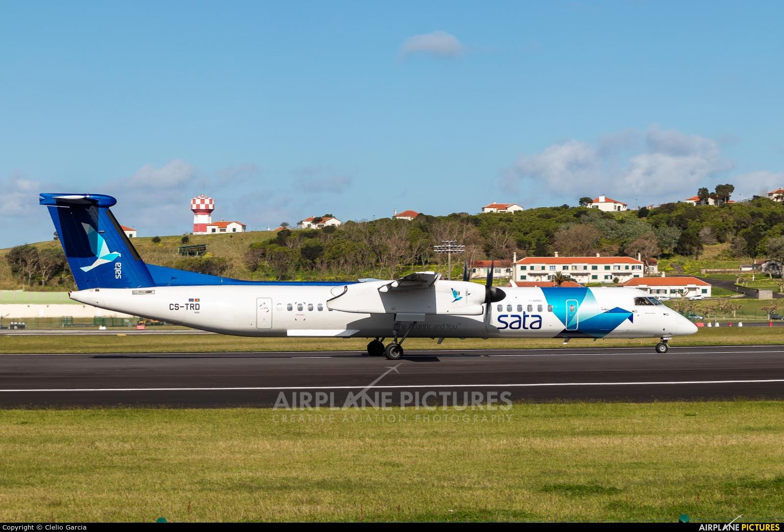 SATA Air Açores CS-TRD aircraft at Azores - Lajes