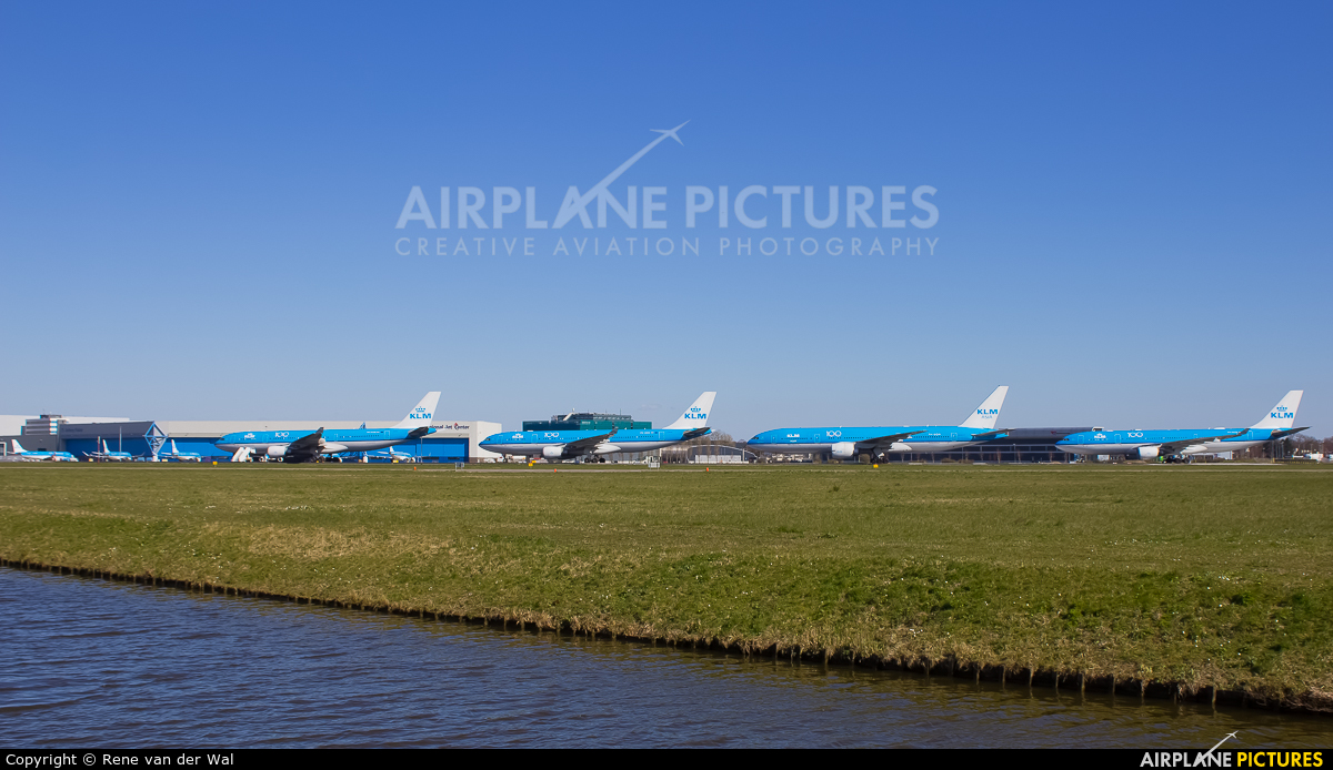 - Airport Overview PH-BQM aircraft at Amsterdam - Schiphol