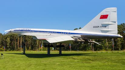 CCCP-77114 - Aeroflot Tupolev Tu-144