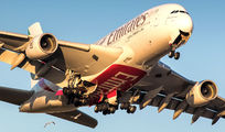A6-EDO - Emirates Airlines Airbus A380 aircraft