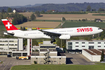 HB-JHC - Swiss Airbus A330-300