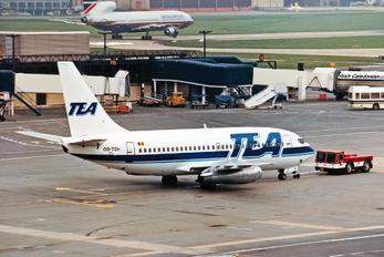 OO-TEH - Trans European Airways Boeing 737-200