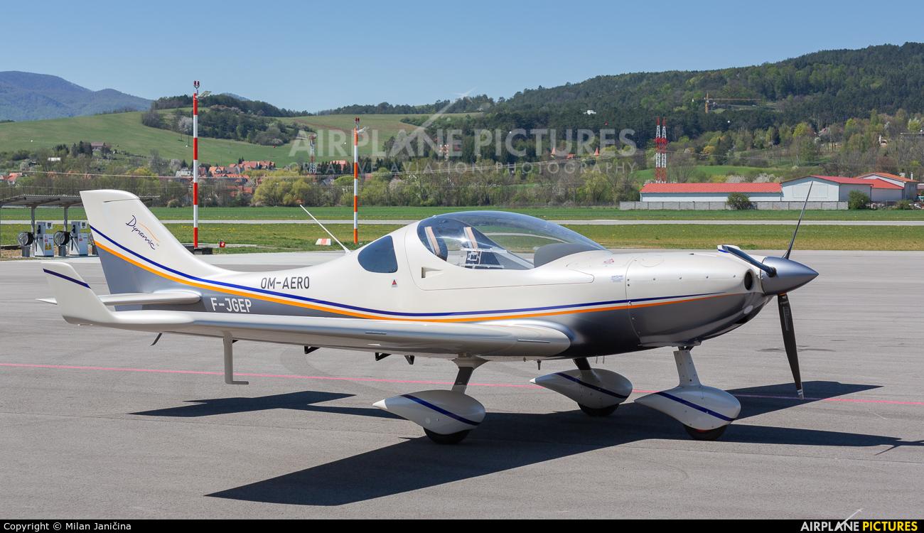 Private F-JGEP aircraft at Prievidza