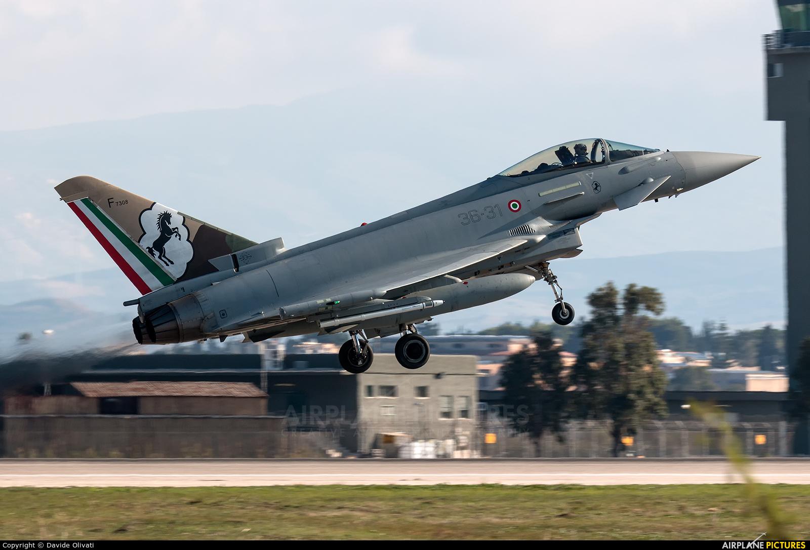 Italy - Air Force MM7308 aircraft at Trapani - Birgi