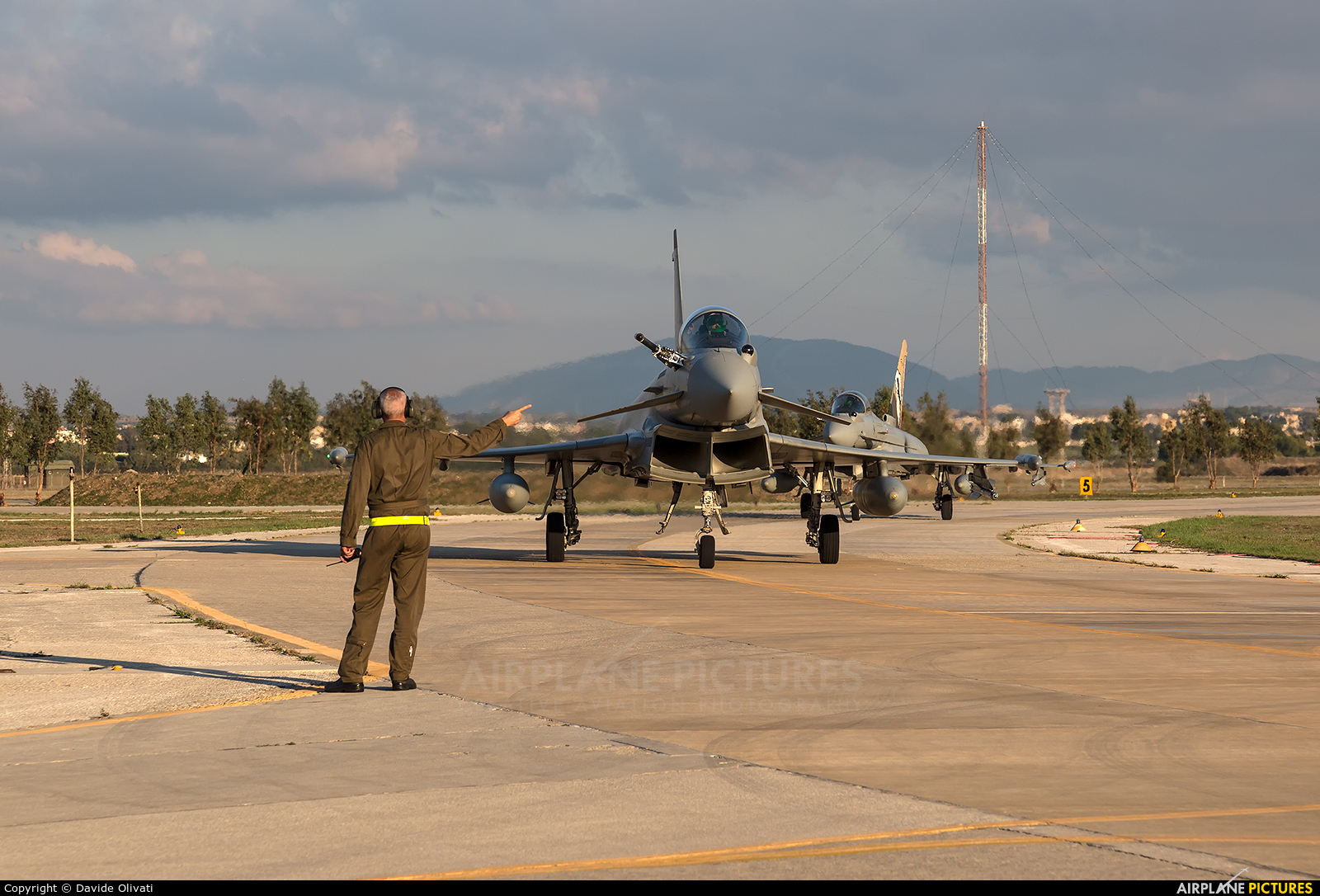 Italy - Air Force MM7312 aircraft at Trapani - Birgi