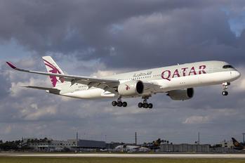 A7-ALV - Qatar Airways Airbus A350-900