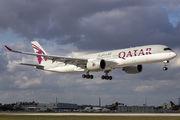 A7-ALV - Qatar Airways Airbus A350-900 aircraft