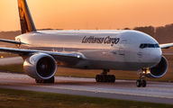 D-ALFD - Lufthansa Cargo Boeing B777-FBT aircraft
