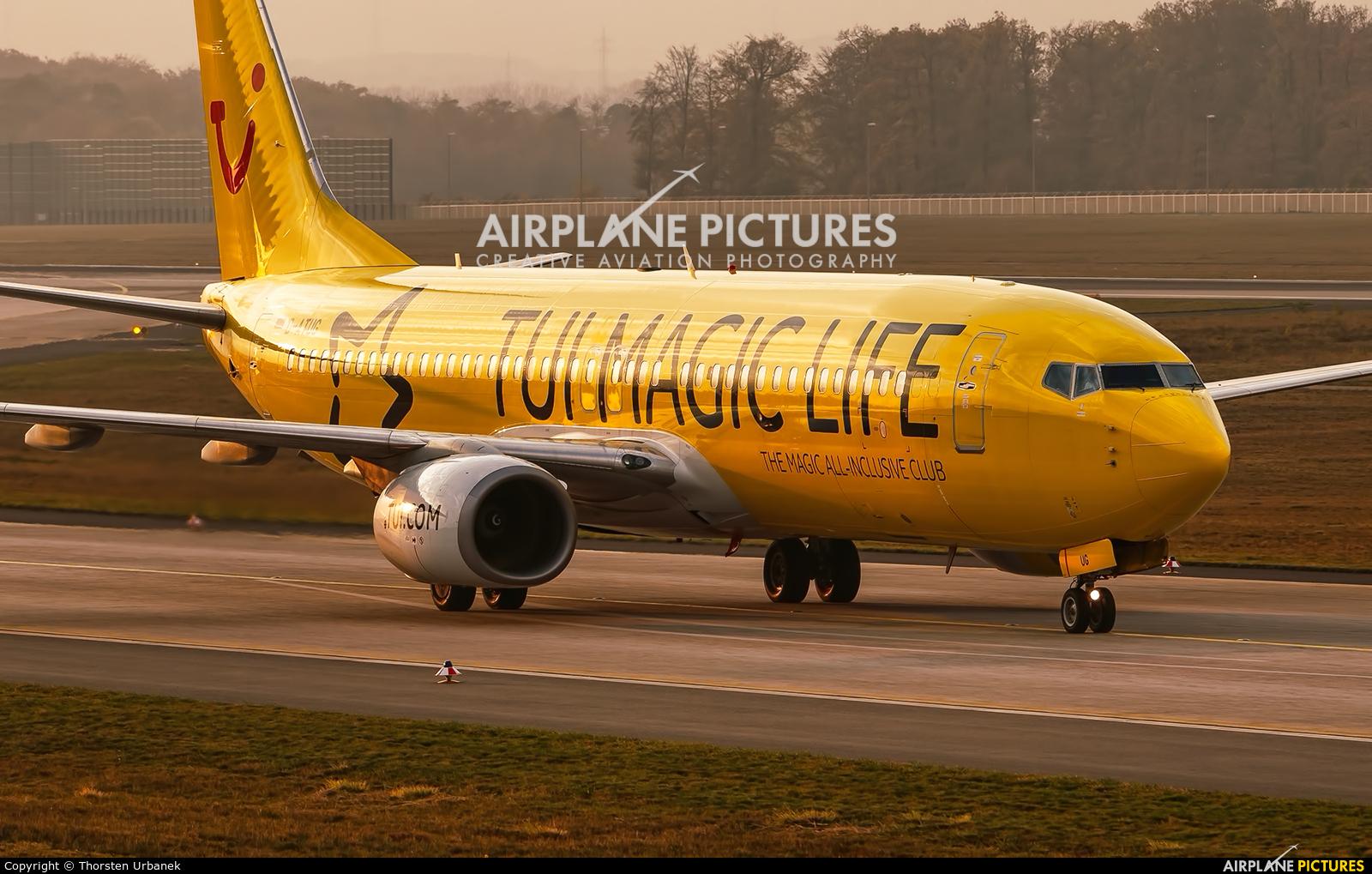 TUIfly D-ATUG aircraft at Frankfurt