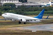 Rare visit of SwiftAir Boeing 737 to Sao Paulo title=