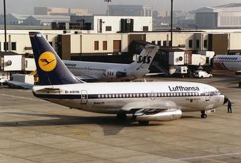 D-ABHB - Lufthansa Boeing 737-200