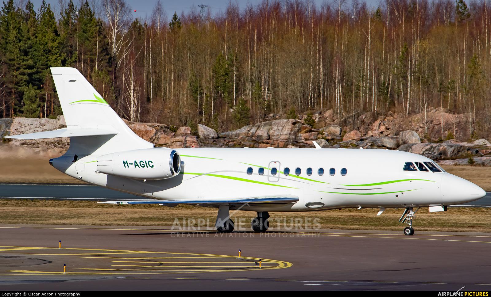 Private M-AGIC aircraft at Helsinki - Vantaa