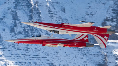 J-3085 - Switzerland - Air Force: Patrouille Suisse Northrop F-5E Tiger II
