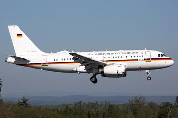 15+02 - Germany - Air Force Airbus A319 CJ