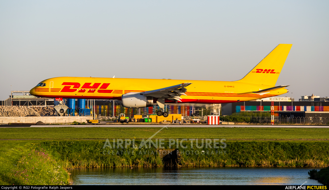 DHL Cargo G-DHKG aircraft at Amsterdam - Schiphol