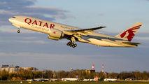 A7-BFT - Qatar Airways Cargo Boeing 777F aircraft