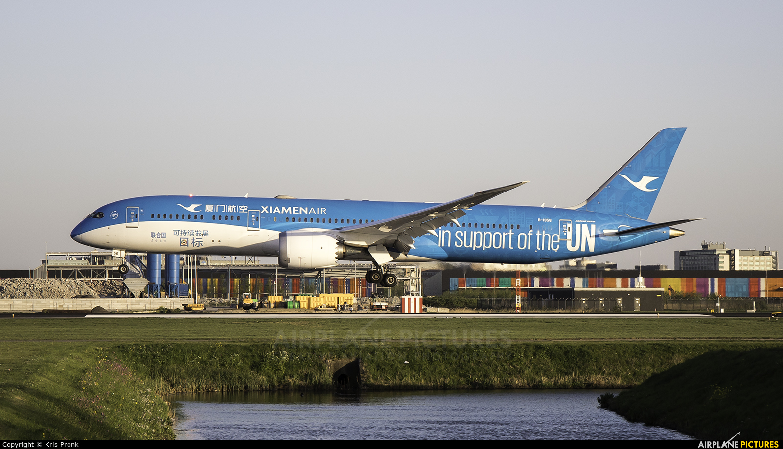 Xiamen Airlines B-1356 aircraft at Amsterdam - Schiphol