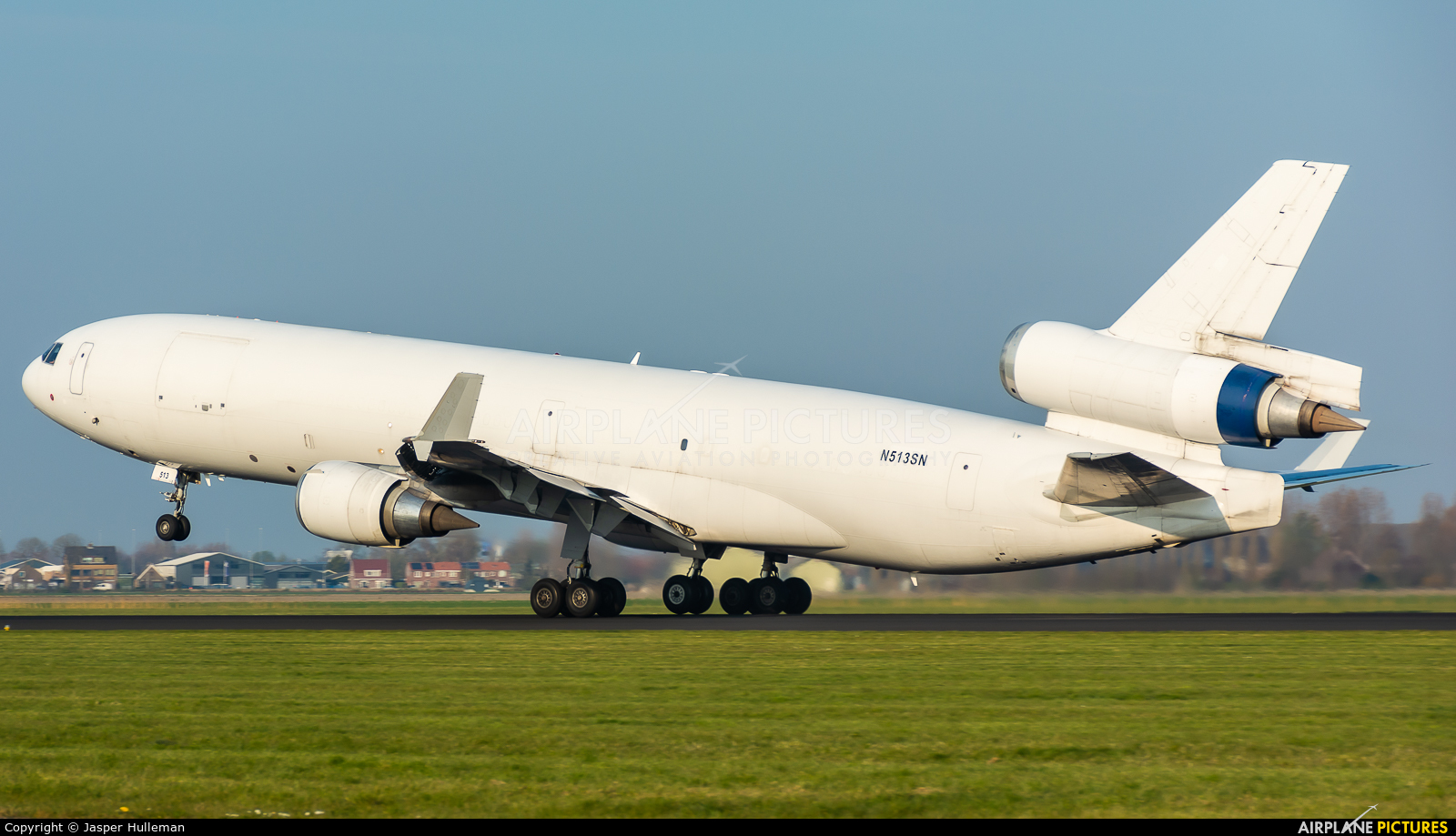 Western Global Airlines N513SN aircraft at Amsterdam - Schiphol
