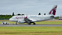 A7-CJA - Qatar Airways Airbus A319 aircraft