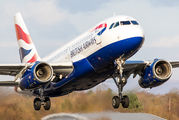 G-EUPD - British Airways Airbus A319 aircraft