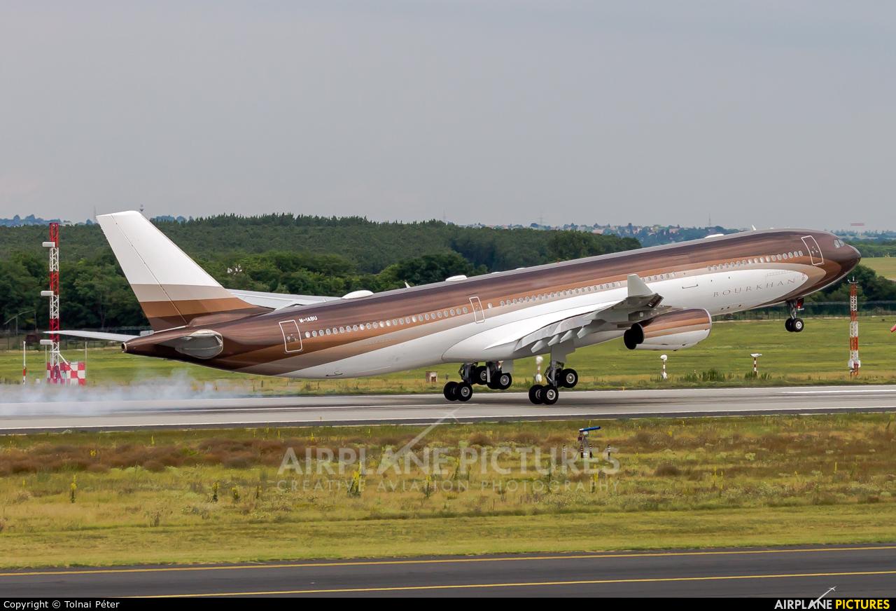 Klaret Aviation M-IABU aircraft at Budapest Ferenc Liszt International Airport