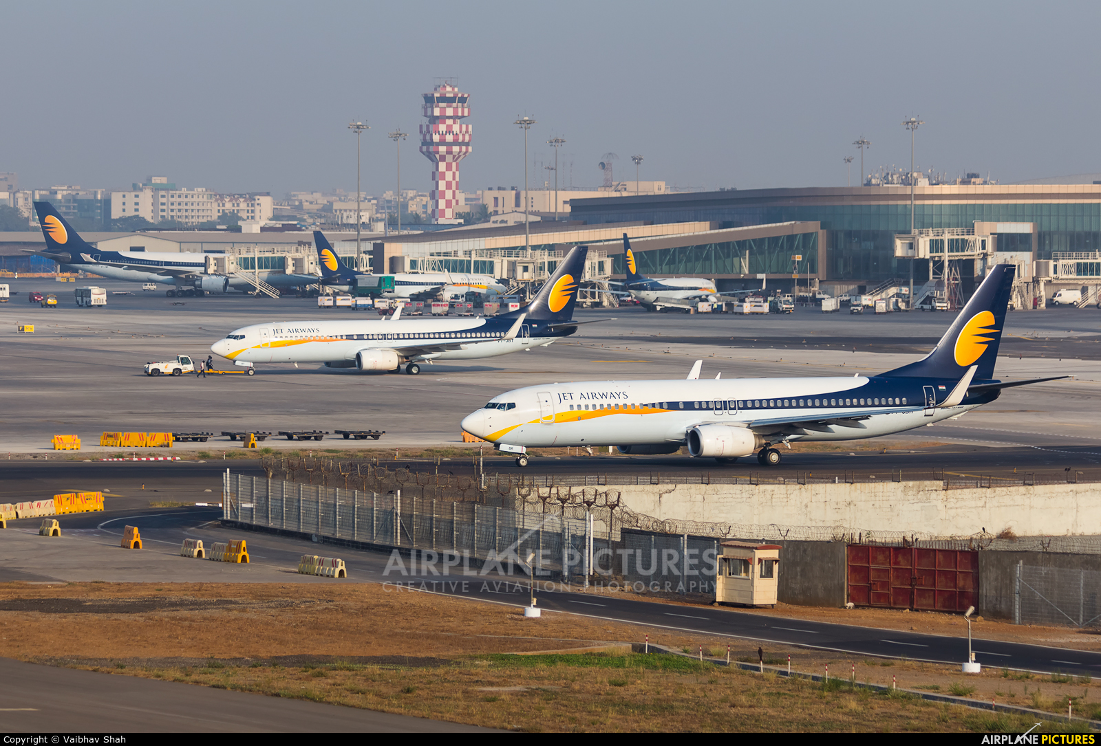 Jet Airways VT-JBR aircraft at Mumbai - Chhatrapati Shivaji Intl