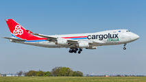 Rare visit of Cargolux Boeing 747 to Prague title=