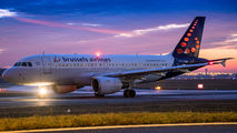 OO-SSM - Brussels Airlines Airbus A319 aircraft