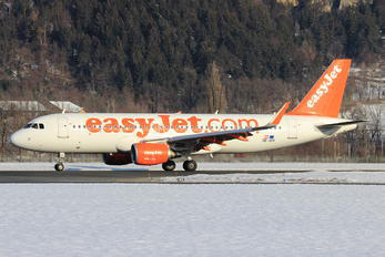 OE-ICU - easyJet Europe Airbus A320