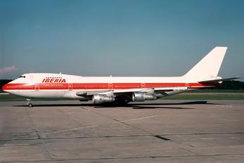 EC-DXE - Iberia Boeing 747-100F