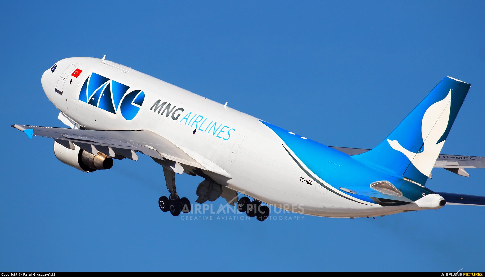 MNG Cargo TC-MCC aircraft at Warsaw - Frederic Chopin