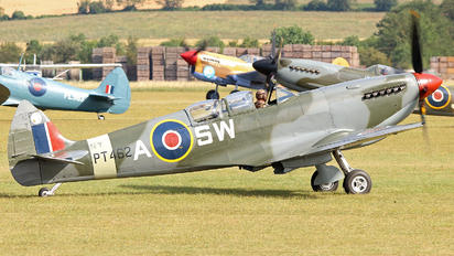 G-CTIX - Aircraft Restoration Co, Supermarine Spitfire T.9