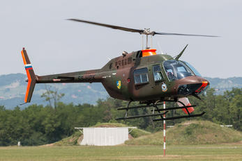 S5-HPK - Slovenia - Air Force Bell 206B Jetranger III